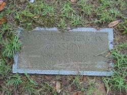 Myrtie <I>Ackerman</I> Cassedy