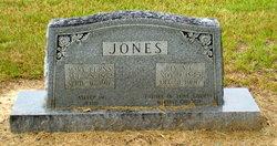 Mary <I>Burns</I> Jones