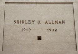 Shirley C Allman