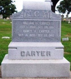 Nancy Alice <I>Sackett</I> Carter