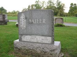 Emma Auguste Sophie Wilhelmine <I>Mohr</I> Bailer