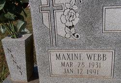 Maxine <I>Webb</I> Lem