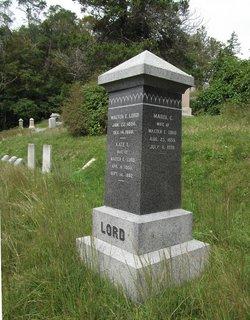 Eliza H. <I>Caldwell</I> Lord