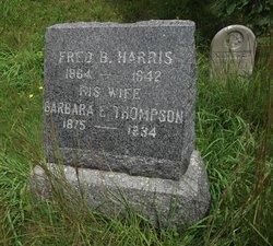 Barbara E. <I>Thompson</I> Harris