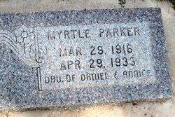 Myrtle Ellen Parker
