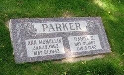 Ann <I>McMullin</I> Parker