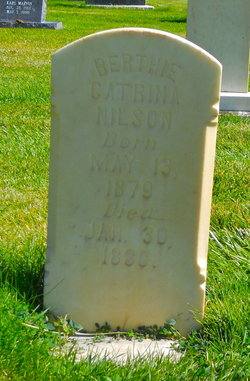 Bertha Catherine Nilson