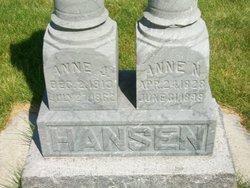 Anne <I>Nielsen</I> Hansen