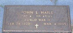 John Lorenzo Haile, Jr