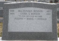 MacDonald Benson