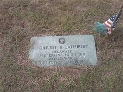 PFC Forrest Benjamin Lathbury
