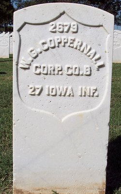 Corp William G Coppernall