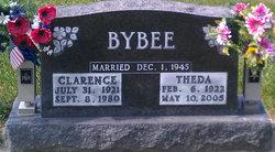 Theda <I>Lewis</I> Bybee