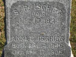 Anna C. <I>Merley</I> Isgrigg