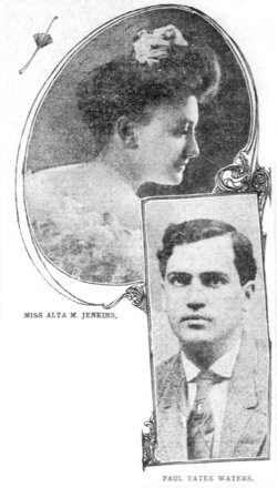 Alta Mathewson <I>Jenkins</I> Waters