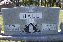 Martha E. <I>Hill</I> Hall
