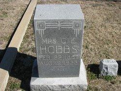 Mrs Guela E. <I>Gay</I> Hobbs