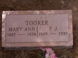 Mary Ann <I>Barnes</I> Tooker