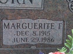 Marguerite F Willburn