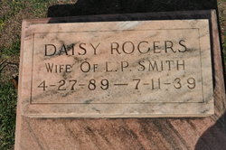Daisy <I>Rodgers</I> Smith