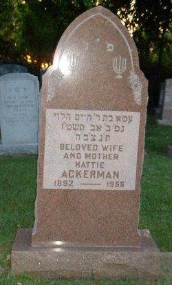 Hattie Ackerman