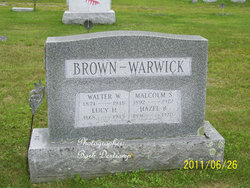Lucy Emily <I>Hatch</I> Brown