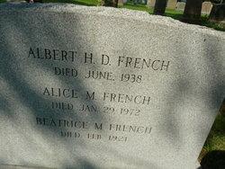 Albert H D French