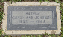 Sarah Ann <I>Sharp</I> Johnson