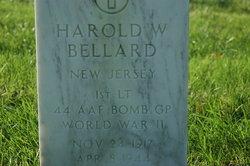 1LT Harold W Bellard