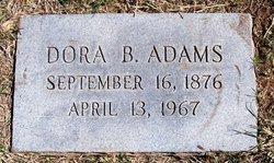 Dora Arizona <I>Barton</I> Adams
