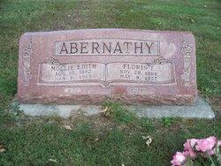 Mollie Edith <I>Klingler</I> Abernathy