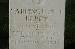 Carrington T Berry