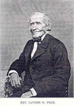 Rev Luther Hoyt Peck, Jr