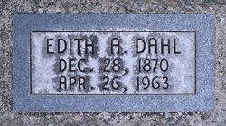 Edith Coreada <I>Anderson</I> Dahl