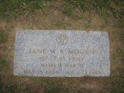 Jane W R Moody