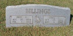 """Ethel Truman """"Vaughn"""" Billings"""