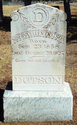 Minerva Ellen <I>Conley</I> Dotson
