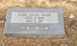 Lanie <I>Jones</I> Haire