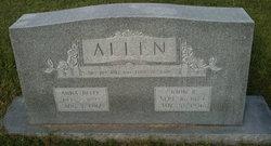 Anne Belle <I>Tyson</I> Allen