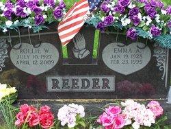 Emma A. <I>Stebing</I> Reeder
