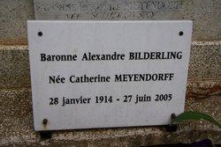 Ekaterina Theophilovna <I>Meyendorff</I> Bilderling