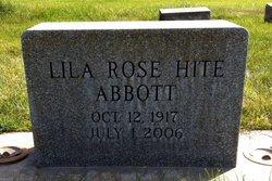 Lila Rose <I>Hite</I> Abbott