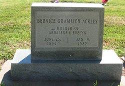 Bernice <I>Gramlich</I> Ackley