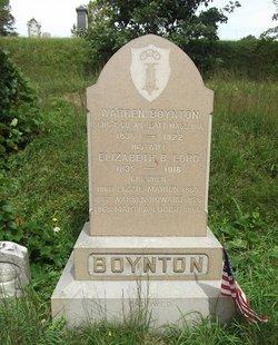 Sgt Warren Boynton