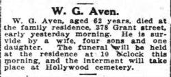 William Green Aven