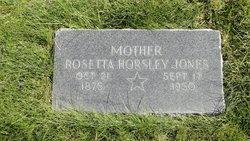 Rosetta H Jones