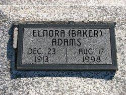 Elnora <I>Baker</I> Adams