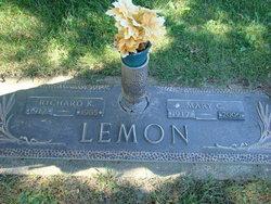 Mary Cordelia <I>Colyott</I> Lemon