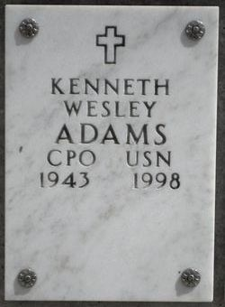 Kenneth Wesley Adams, Sr