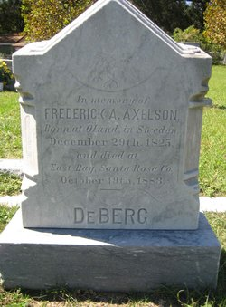 Frederick A Axelson